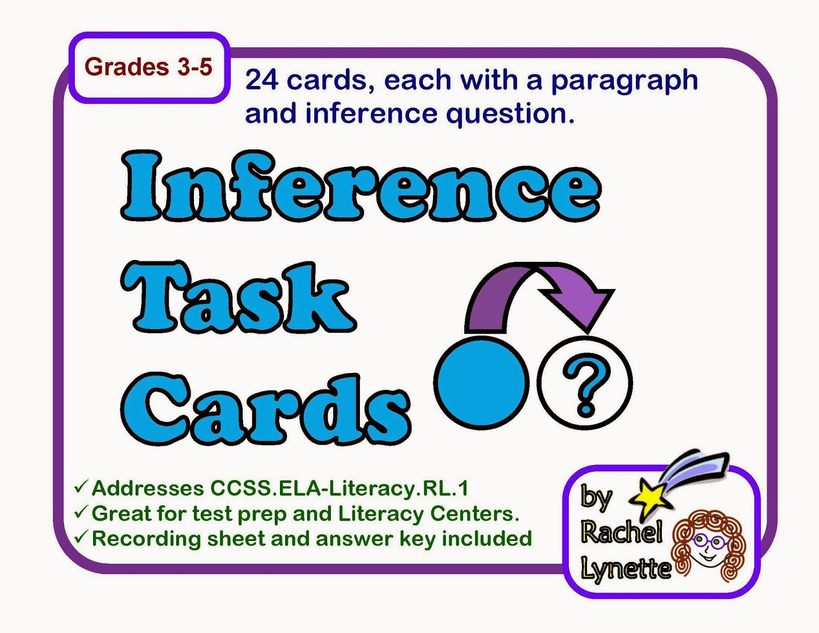Inferencing at its BEST..and a freebie! - Simply Skilled in Second