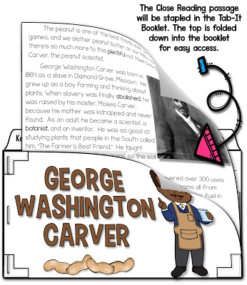 George Washington Carver close reading
