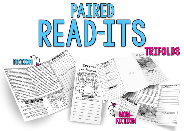 Read-Its Paired Passages Trifolds