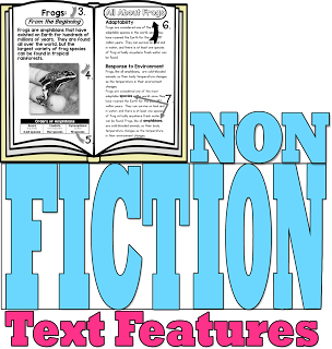 Nonfiction Text Features Flip Flap Book