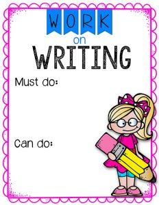 Work on Writing web