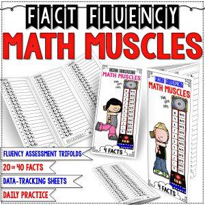 Fact Fluency Math Muscles