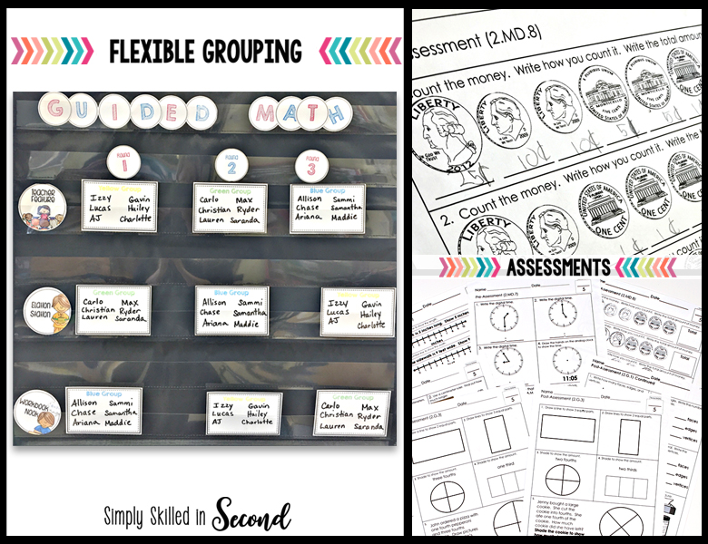 flexible guided math groups, flexible grouping in guided math, flexible groups for math