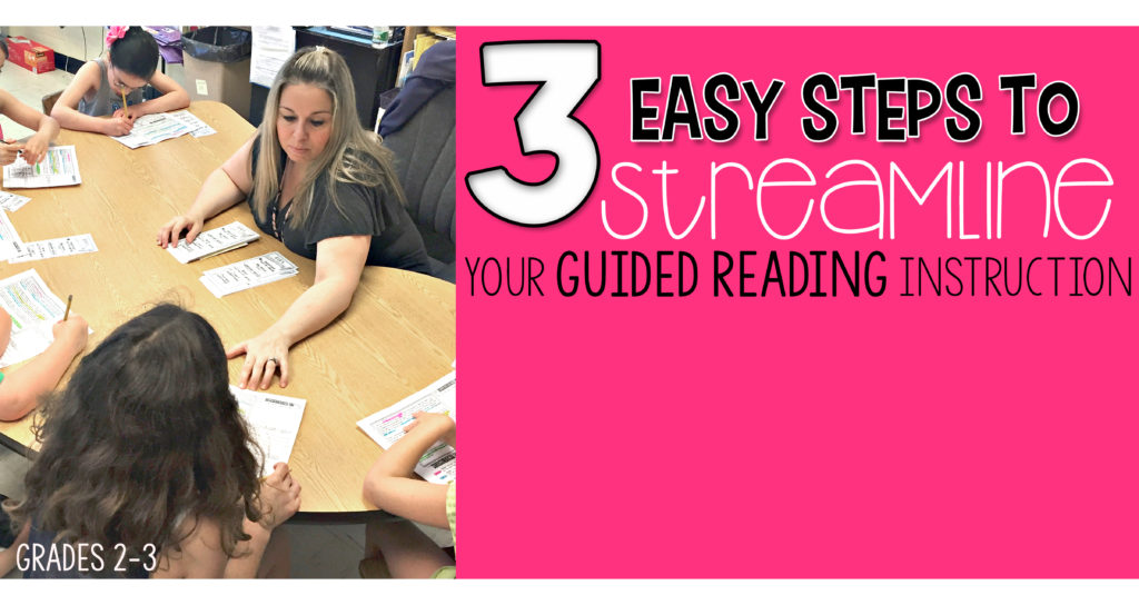 Learn how to Effectively Streamline Your Guided Reading Instruction