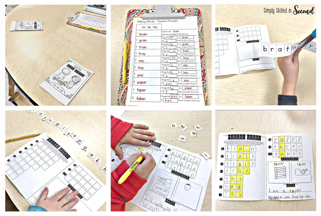 guided reading making words