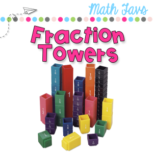 using fraction towers for math