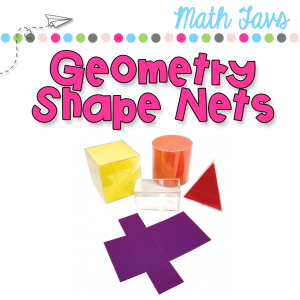 using geometry nets for teaching shape attributes