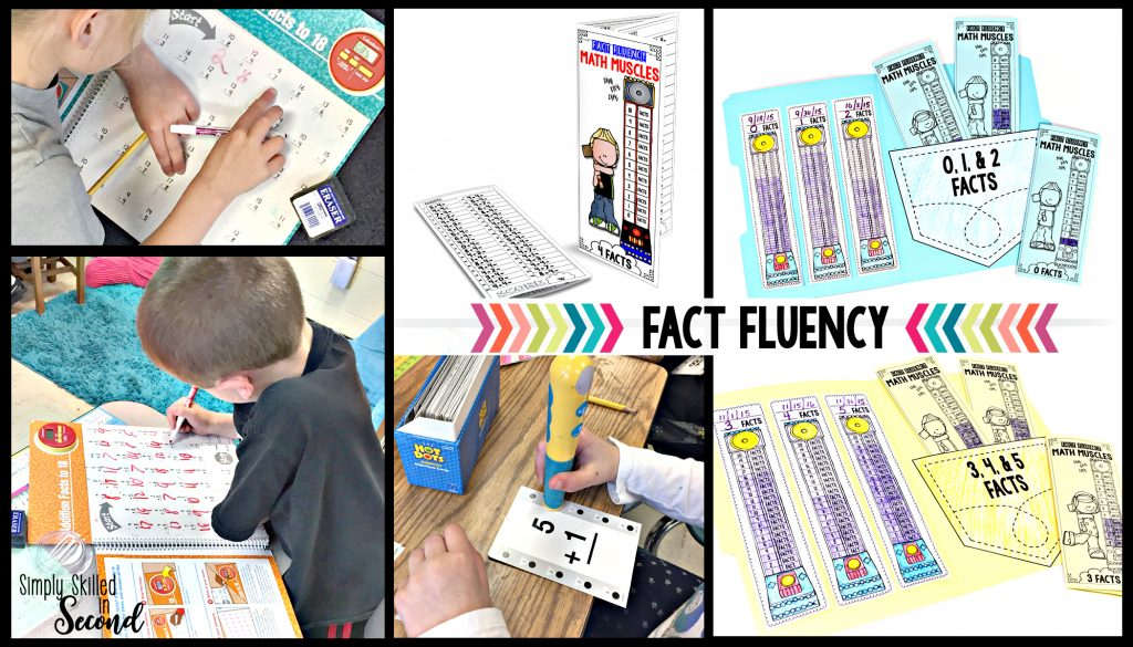 fact fluency, guided math fact practice, number facts practice, practicing number facts, practicing fact fluency, timed fact fluency tests