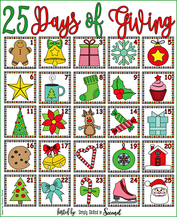 25 Days of Giving WEB
