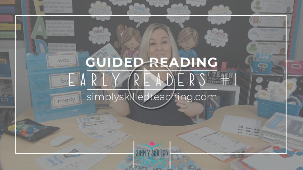 Guided Reading How to teach Guided Reading to Early Readers Video Part 1