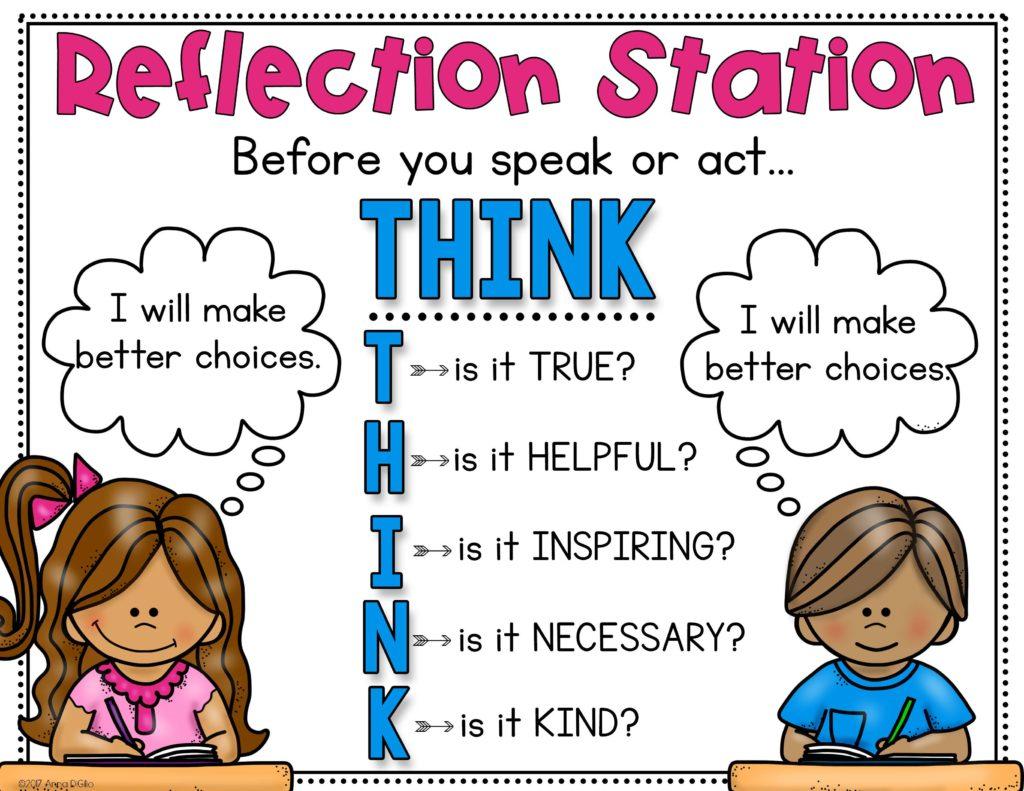 reflection station FREEBIE